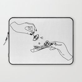 How to roll up your sadness? Laptop Sleeve