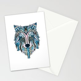 Wolf Colorful Stationery Cards