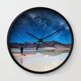 Piedras Rojas, Atacama Wall Clock