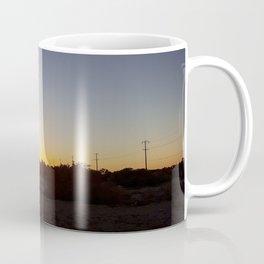 California Desert Sunrise Coffee Mug