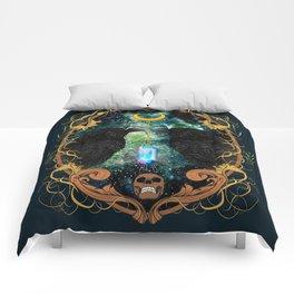 Raven Moon Oracle With Crystal Pendulum Comforters