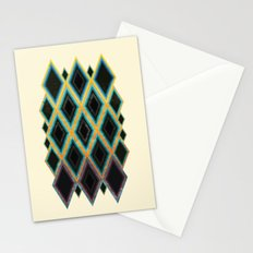 Diamond pattern Stationery Cards