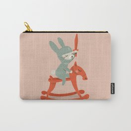 Rabbit Knight Carry-All Pouch
