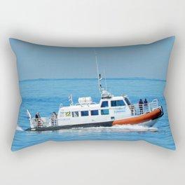 Exploramer Tour Boat Rectangular Pillow