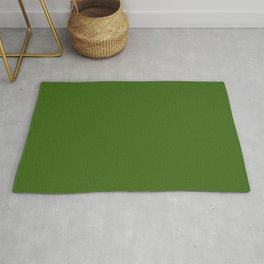 Tropical Jungle Green Rug