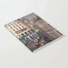 Victoria Street in Edinburgh, Scotland Notebook