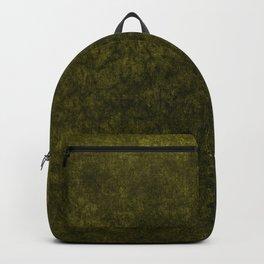 olive green velvet | texture Backpack