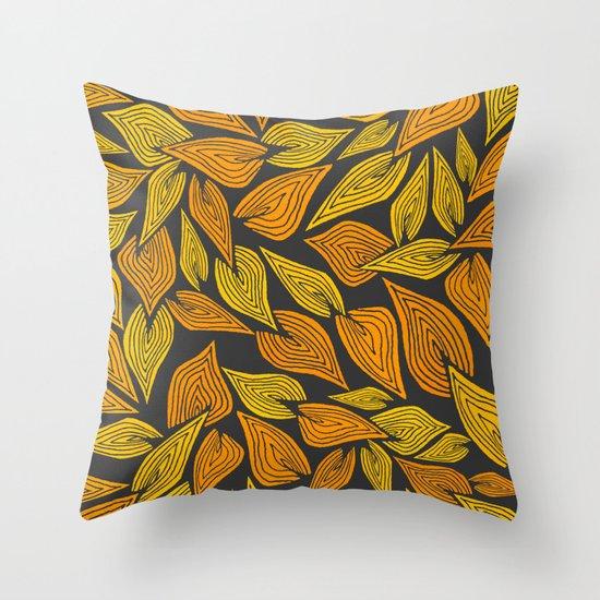 Autumn Night Throw Pillow