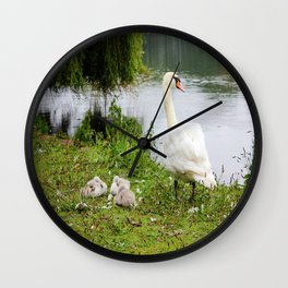 Mama and Babies Wall Clock