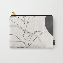 Abstract Art /Minimal Plant Carry-All Pouch