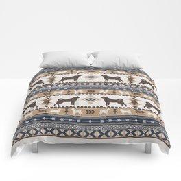 Boho dogs | Elkhound/Jämthund tan Comforters