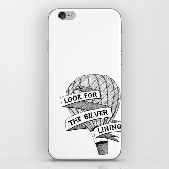 Look for the silver lining iPhone & iPod Skin