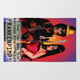 Frankenpimp (2009) - Movie Poster Rug