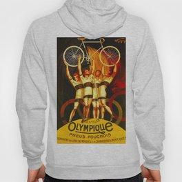 Vintage Olympique Bicycle Ad Hoody