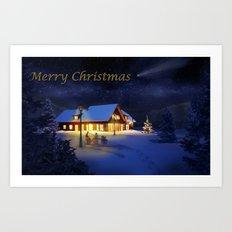 Christmas Eve Art Print