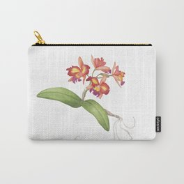 Red Orange Orchid Carry-All Pouch