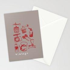 kitchen vintage Stationery Cards