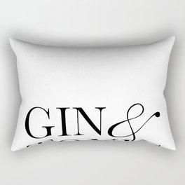 Gin&Tonic Rectangular Pillow