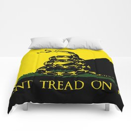 Don't Tread On Me Comforters