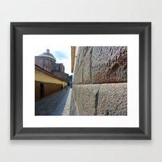 Cuzco Alley 2011 Framed Art Print