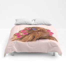 CURLY GUINEA PIG Comforters