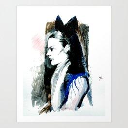 miss spinsley Art Print
