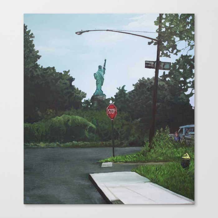 Dead-End Liberty Canvas Print