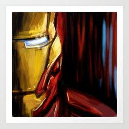 Ironman of New York Art Print