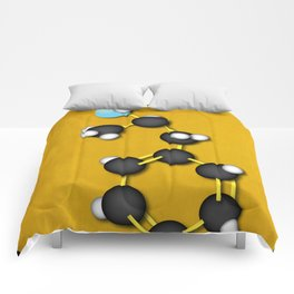 Breaking Bad Molecular Compound Comforters