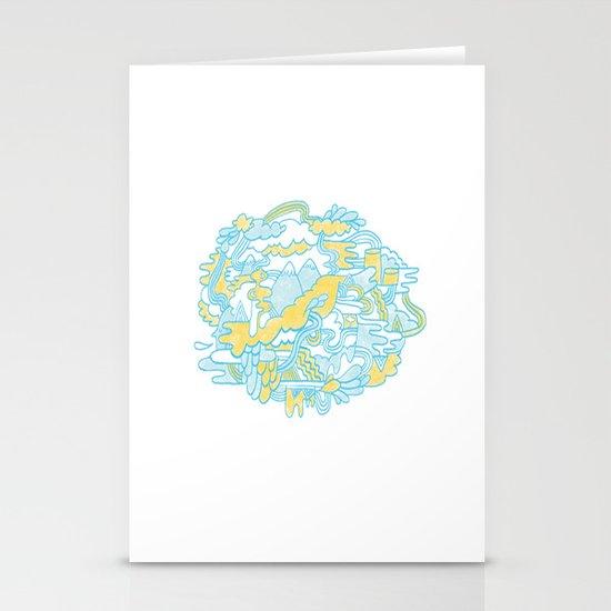 Spaghetti Mountain Stationery Cards