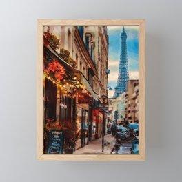 Paris France Framed Mini Art Print