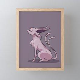 Espeon Framed Mini Art Print