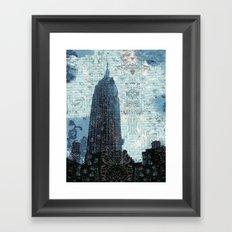 The Empire Framed Art Print