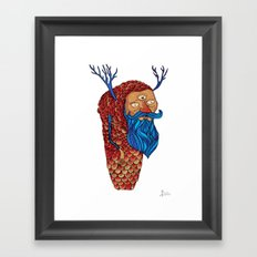 Everything is a state of mind Framed Art Print