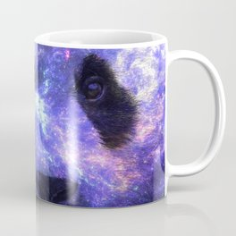 Galaxy Panda Space Colorful Coffee Mug