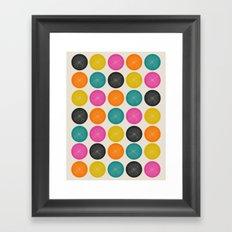 Circles 3 Framed Art Print