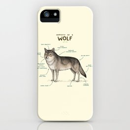 Anatomy of a Wolf iPhone Case