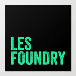LES Foundry (3) Canvas Print