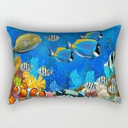 Heart of the Atlantic Rectangular Pillow