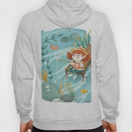 Giadina goes to fishing Hoody