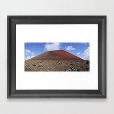 Montaña Colorada Framed Art Print