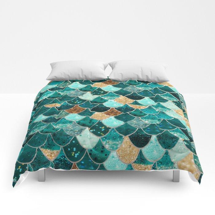 REALLY MERMAID Comforters