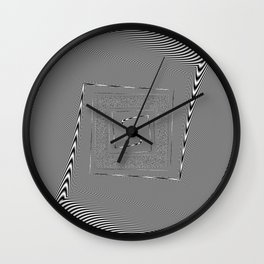 moire patterns Wall Clock