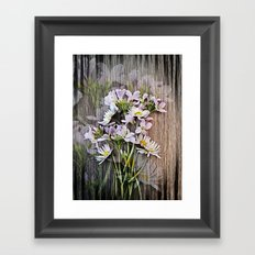 Cuckoo Daisies Framed Art Print