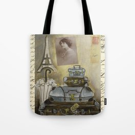 turquoise travels  Tote Bag
