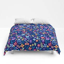 """Cute Floral pattern in the small flower. """"Ditsy print"""". Vintage. Comforters"""