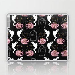 Grave Kitten Laptop & iPad Skin
