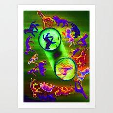 sacrificial circle Art Print