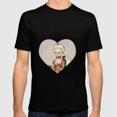 Marie Antoinette MEDIUM Black Mens Fitted Tee