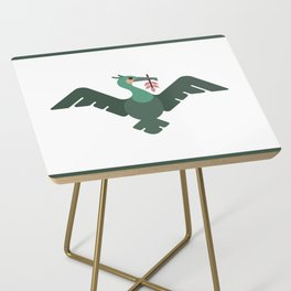 Liverpool Liver Bird Side Table